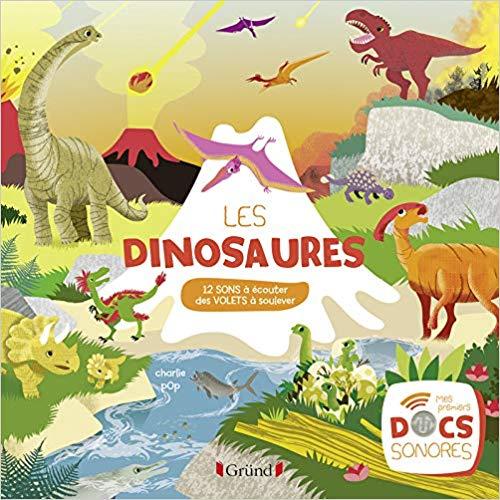 Couverture Les dinosaures