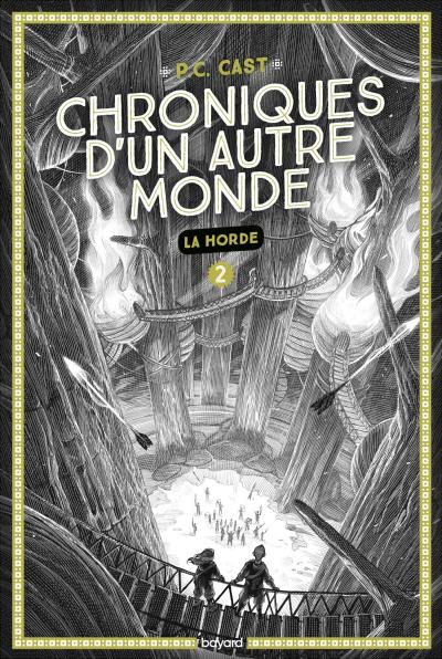 Couverture Chroniques d'un autre monde, tome 2 : La horde