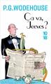 Couverture Ça va, Jeeves ? Editions 10/18 2019