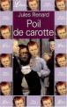 Couverture Poil de carotte Editions Librio 2001