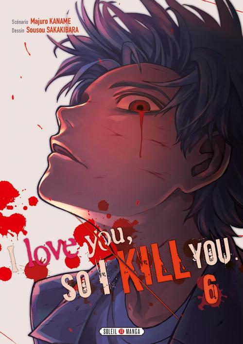 Couverture I love you, so I kill you, tome 6