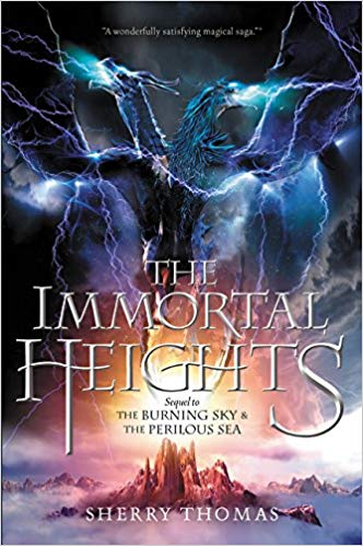 Couverture The Elemental Trilogy, book 3: The Immortal Heights