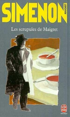 Couverture Les Scrupules de Maigret