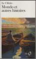Couverture Mondo et autres histoires Editions Folio  1978
