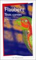 Couverture Trois contes Editions Flammarion (GF) 1986