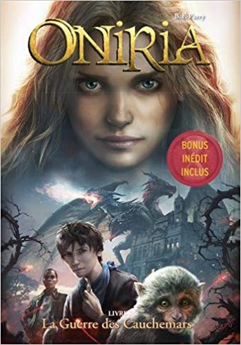 Couverture Oniria, tome 3 : La guerre des cauchemars