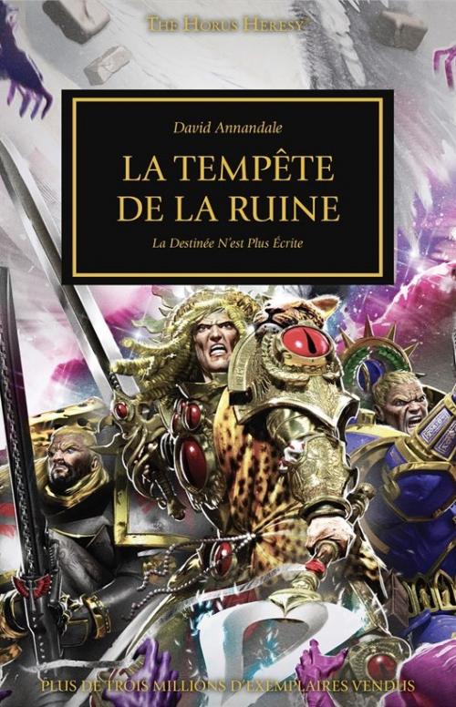 Couverture L'Hérésie d'Horus, tome 43 : La Tempête de la ruine
