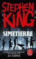 Couverture Simetierre Editions Le Livre de Poche 2019