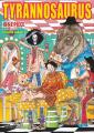 Couverture One Piece : Color walk, tome 7 : Tyrannosaurus Editions Glénat (Art of) 2019