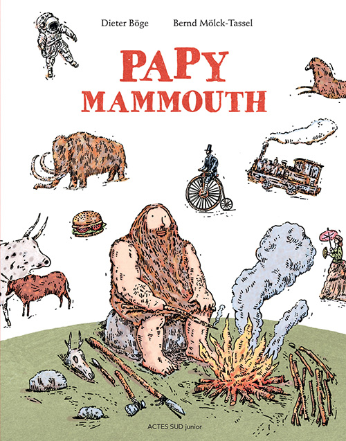 Couverture Papy Mammouth