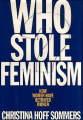 Couverture Who Stole Feminism? Editions Simon & Schuster 1994