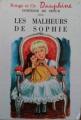 Couverture Les malheurs de Sophie Editions G.P. (Rouge et Or) 1961