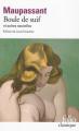 Couverture Boule de Suif et autres nouvelles Editions Folio  (Classique) 2018