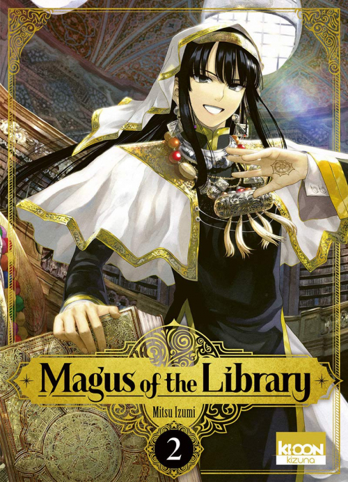 Couverture Magus of the Library, tome 2