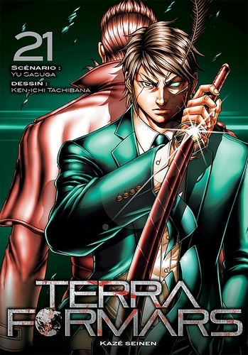 Couverture Terra Formars, tome 21