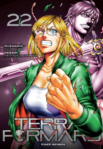 Couverture Terra Formars, tome 22