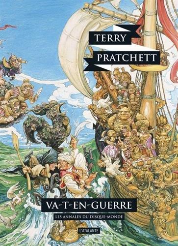 Couverture Les Annales du Disque-Monde, tome 21 : Va-t-en-guerre