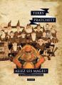 Couverture Les Annales du Disque-Monde, tome 33 : Allez les mages ! Editions L'Atalante (La Dentelle du cygne) 2019