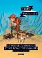 Couverture Le fabuleux Maurice et ses rongeurs savants Editions L'Atalante (La Dentelle du cygne) 2017
