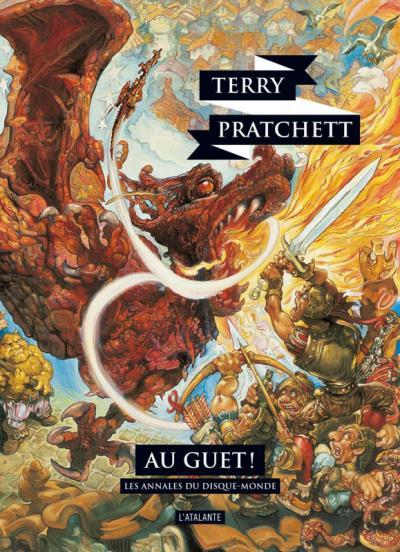 Couverture Les Annales du Disque-Monde, tome 08 : Au guet !