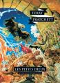 Couverture Les Annales du Disque-Monde, tome 13 : Les Petits Dieux Editions L'Atalante (La Dentelle du cygne) 2016