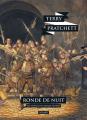 Couverture Les Annales du Disque-Monde, tome 28 : Ronde de Nuit Editions L'Atalante (La Dentelle du cygne) 2018