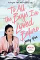 Couverture Les amours de Lara Jean, tome 1 : A tous les garçons que j'ai aimés... Editions Simon & Schuster (Books for Young Readers) 2018
