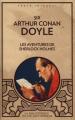 Couverture Les aventures de Sherlock Holmes Editions Caractère (La bibliothèque du collectionneur) 2013