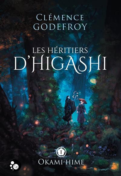 Couverture Les héritiers d'Higashi, tome 1 : Okami-Hime