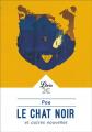 Couverture Le chat noir et autres contes fantastiques / Le chat noir et autres nouvelles / Le chat noir Editions Librio 2018