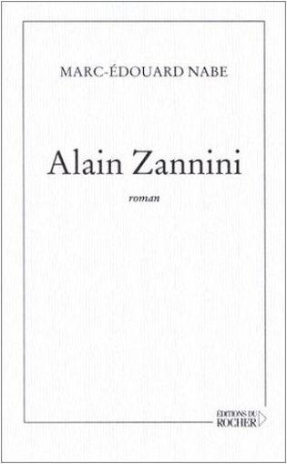 Couverture Alain Zannini