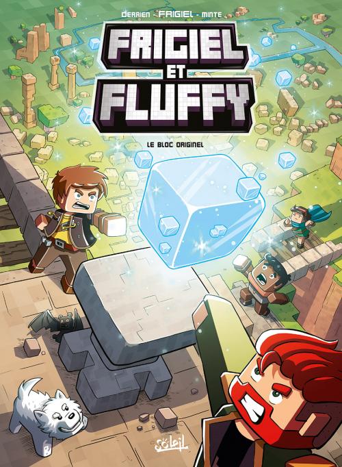 Couverture Frigiel et Fluffy, tome 3 : Le bloc originel