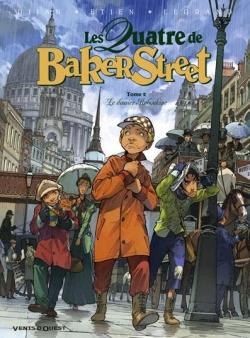 Couverture Les Quatre de Baker Street, tome 2 : Le dossier Raboukine