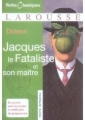 Couverture Jacques le fataliste / Jacques le fataliste et son maître Editions Larousse (Petits classiques) 2007