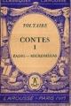 Couverture Zadig suivi de Micromégas / Zadig ou la destinée suivi de Micromégas Editions Larousse (Classiques) 1939