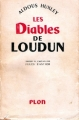 Couverture Les diables de Loudun Editions Plon 1953