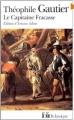 Couverture Le capitaine Fracasse Editions Folio  (Classique) 1972