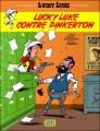 Couverture Les Aventures de Lucky Luke (d'après Morris), tome 4 : Lucky Luke contre Pinkerton Editions Lucky Comics 2010