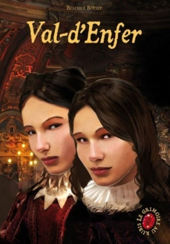 Couverture Le Grimoire au Rubis, cycle 2, tome 1 : Val-d'Enfer