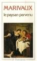 Couverture Le Paysan parvenu Editions Flammarion (GF) 1988