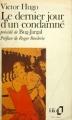 Couverture Le Dernier Jour d'un condamné Editions Folio  1970