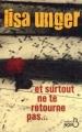Couverture Et surtout ne te retourne pas... Editions Belfond (Noir) 2010