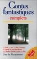 Couverture Contes fantastiques Editions Marabout 1997