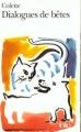 Couverture Dialogues de bêtes Editions Folio  1993