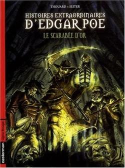 Couverture Histoires extraordinaires d'Edgar Poe, tome 1 : Le Scarabée d'or