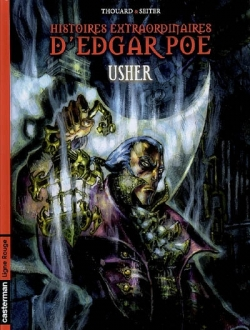 Couverture Histoires extraordinaires d'Edgar Poe, tome 2 : Usher
