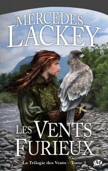 Couverture Cycle des Hérauts de Valdemar, La Trilogie des vents, tome 3 : Les Vents furieux