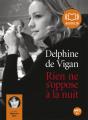 Couverture Rien ne s'oppose à la nuit Editions Audiolib 2011