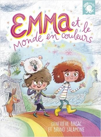 Couverture Emma et le monde en couleurs