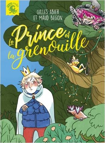 Couverture Le Prince et la grenouille